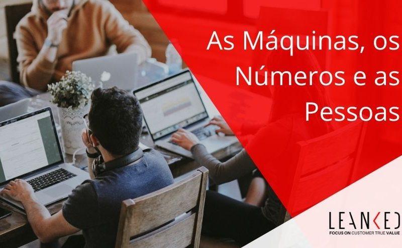 As máquinas, os números e as pessoas